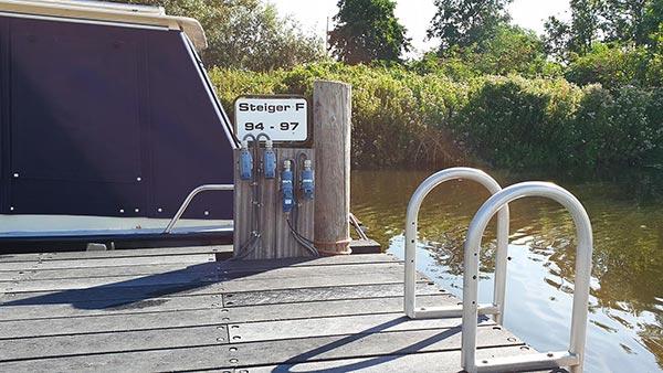 Jachthaven Otto - Stroomvoorziening ligplaatsen